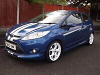 2010 reg Ford fiesta zetec s s1600 ltd performance blue 1 years mot