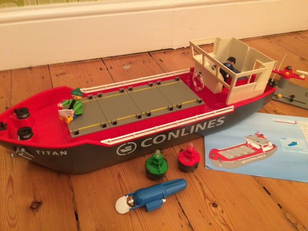 Playmobil Cargo Ship (4472)
