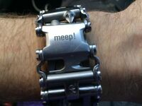 Lost by AKVA bar canal basin metal silver bracelet £30 reward lost sat 12th aug