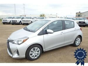 2015 Toyota Yaris LE w/Keyless Entry, Trip Computer, 18,540 KMs