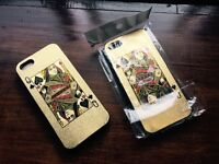Joblot of Plastic Protective Poker Cards Casino Cases Covers for iPhone 5 and 5s New