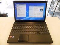 Sony Vaio PCG-61511M Lapotp AMD Phenom II Triple Core 4GB 320GB Windows7