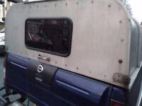 Nissan Navara D22 Ifor hood