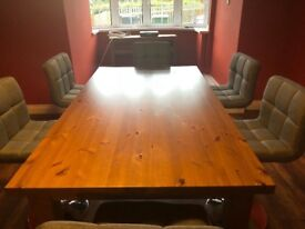 Forsby dining table **dining table only no chairs included**