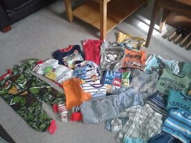 bundle of clothes 2-3 years boy