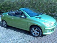 PEUGEOT 206cc 2003 1.6