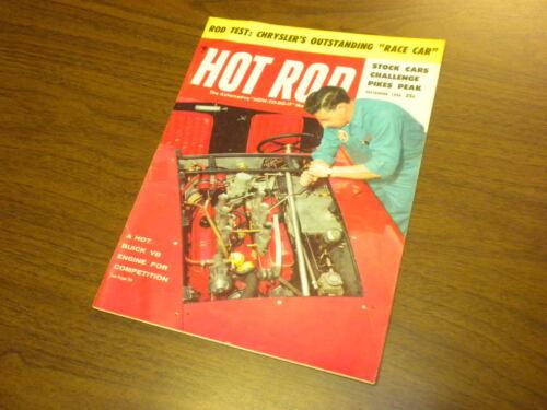 HOT ROD magazine 1956 September