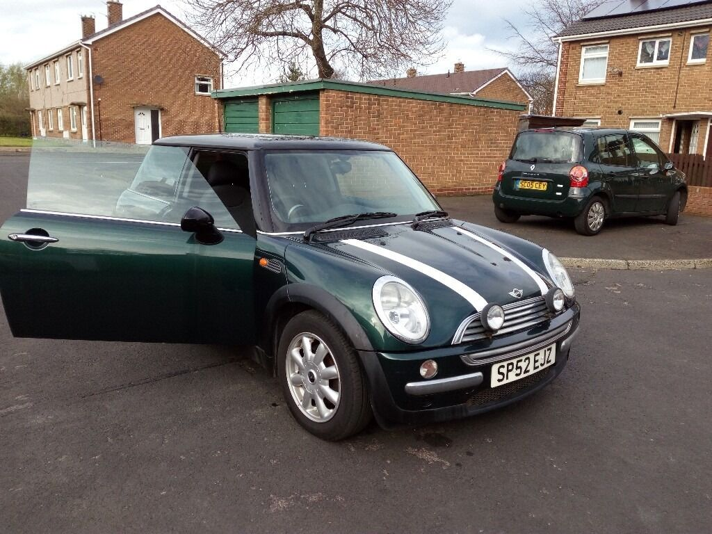 mini cooper 2002 racing green in ashington northumberland gumtree. Black Bedroom Furniture Sets. Home Design Ideas