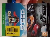 2 xbox games steep and the crew £5 millbrook