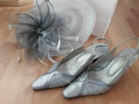Mother of the bride/groom, shoes & hat/fascinator