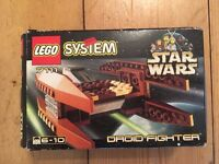 Collectible Official LEGO Star Wars: Droid Fighter Set 7111