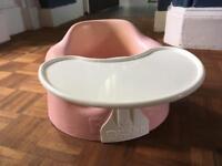 Pink Bumbo baby seat