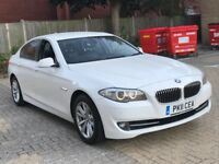 2011 BMW 520D 5 SERIES 2.0 SE SALOON DIESEL MANUAL 5 SEAT FAMILY CAR LUXURY WHITE N E CLASS 730 320