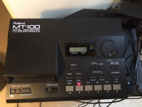 Roland MT-100 Digital Sequencer & Sound Module