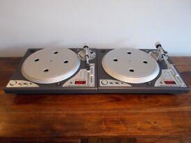 Vestax pdx-3ds Direct Drive turntables/ Technics 1210/ 1200 alternatvives
