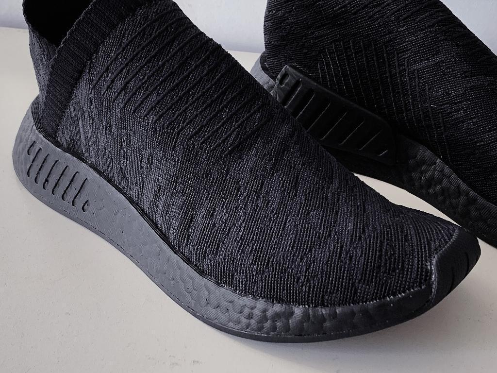 42f62c5af8816 Like new Adidas Nmd cs2 boost full black 8.5 uk size