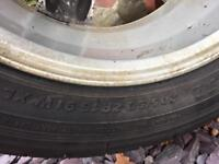 "Ford Focus 16"" alloy rim & tyre"