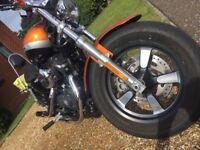 Harley Davidson 1200 XL CA Custom ltd