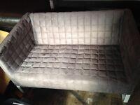 2 Grey IKEA sofas