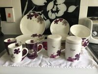 DINNER / TEA SET with MATCHING EXTRAS
