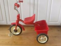 Kids metal trike from Great Little Trading Company by Italtrike in Red
