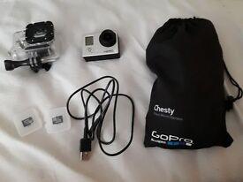 GoPro Hero 3 + chesty strap