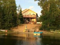 LAKEFRONT HOME! Stunning bungalow! WalkOut to lake! 24x20 Garage