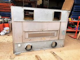 Large Stainless steel Commercial Catering Canopy Extractor Hood