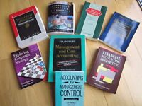ACCOUNTANCY BOOKS ~ MGT & COST ~ INVEST APPRAISAL ~ LAW ~ INFO SYSTEMS ~ STRATEGY ~ ��30 THE LOT!!!