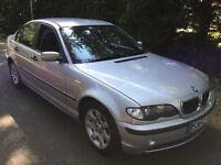 BMW 320D 1995cc Turbo Diesel 5 speed manual 4 door saloon 52 Plate 20/09/2002 Silver