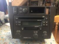 Volvo Head Unit - 605 Stereo CD and Cassette Player inc V40 centre console trim