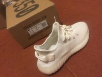54392c2eb25d1 Adidas Yeezy 350 V2 all white   cream UK 8.5 brand new 100% authentic