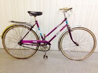 All original Features beautiful Raleigh city bike