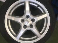 Wolfrace 5 spoke alloys