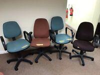 Computer Chairs x 4