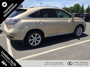 2010 Lexus RX 350 Groupe Touring GPS Cuir Roues 19 po.