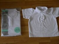 2 Pack Of Age 4 Unisex Polo Shirts - Brand New (Plus additional one used once)
