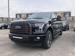2017 Ford F-150 4WD SUPER CREW 157'' WB LARIAT INT ROUGE gps toi