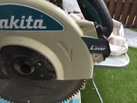 Makita chopsaw with stand