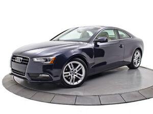 2013 Audi A5 2.0T CUIR TOIT QUATTRO