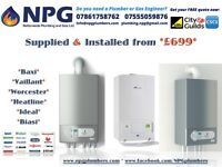 Baxi*Vaillant*Heatline*Ideal*Biasi*Potterton*ErP A-Rated Combi*50% OFF*LIMITED TIME ONLY*Call Now***