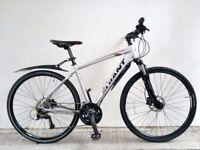 """FREE Speedometer (2621) 700c 19"""" Aluminium GIANT HYBRID DISC SUSPENSION BIKE BICYCLE H: 173-188 cm"""