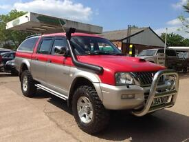 Mitsubishi L200 Double Cab TD 4Life 4WD 113Bhp (red/silver) 2004