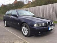 BMW 530D SE AUTOMATIC DIESEL ESTATE CAR FULL SERVICE HISTORY not 320 325 330 520 525