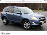 Toyota RAV4 automatic wanted