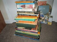 Collection of 32 Animal Books Dog Cat Spiders Insects Birds Fish Butterflies Horses Job Lot