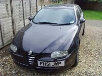 Alfa Romeo 147 - 2 litre - full 12 months MOT - Price reduced for quick sale.