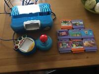 Vtech v. Smile console and games