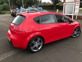 Seat Leon 2.0 TSI FR DSG 5dr 12 MONTH MOT DRIVES PERFECT NATIONWIDE DELIVERY AVAILABLE