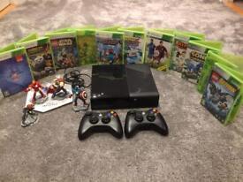 Xbox 360 large bundle.